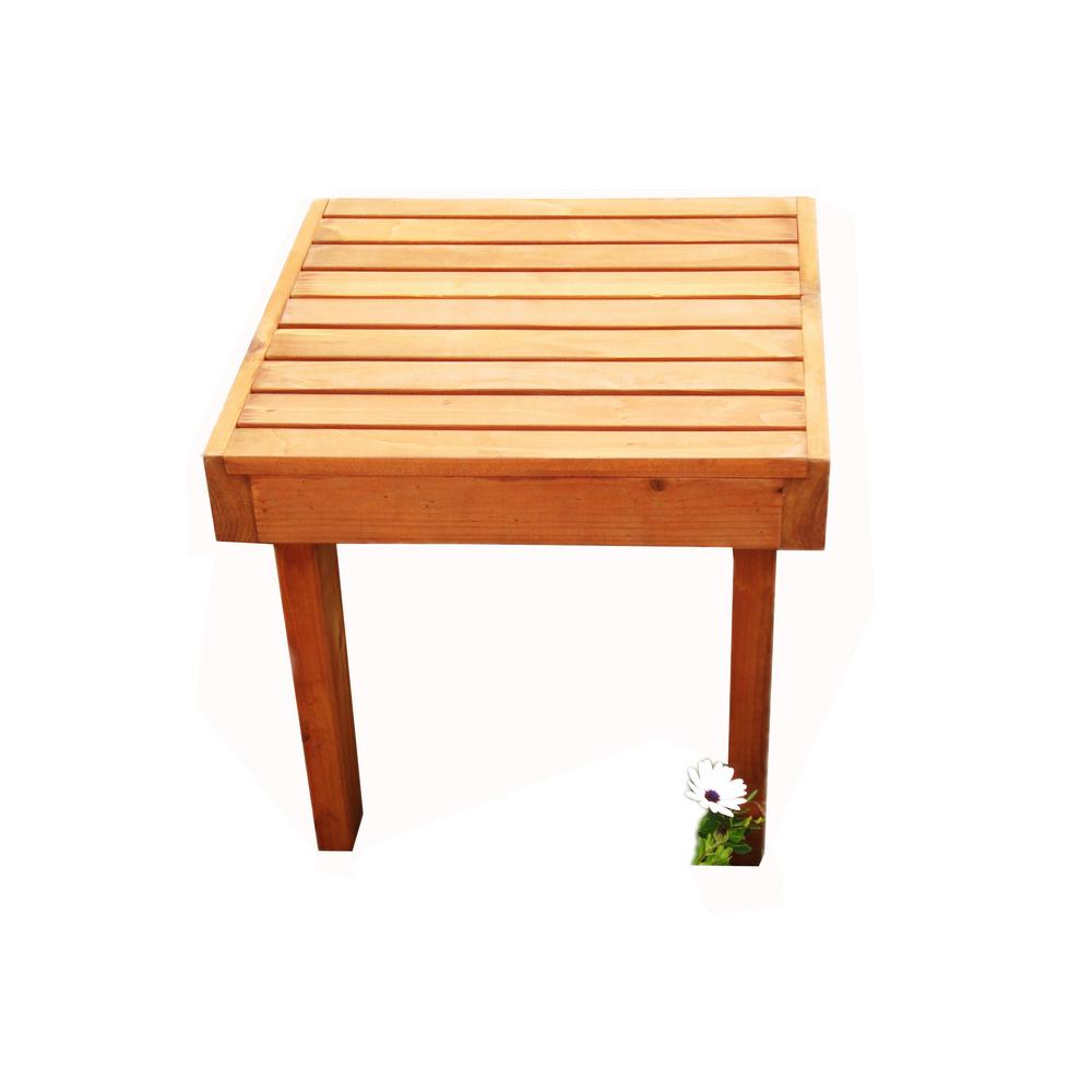 best redwood summer super deck outdoor side table stsmb tables orange hairpin electric wall clock runner quilt kits plastic furniture ikea wood ultra pier imports dining setting