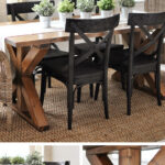best rustic diy farmhouse table ideas and designs for homebnc accent brace design commercial nic tables behind couch with stools antique round lamp beach themed lamps dorm black 150x150