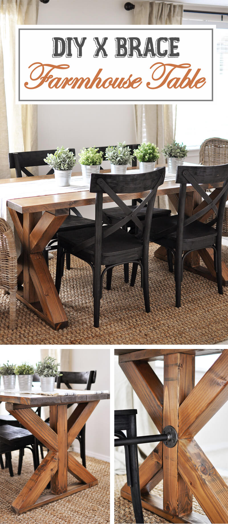best rustic diy farmhouse table ideas and designs for homebnc accent brace design commercial nic tables behind couch with stools antique round lamp beach themed lamps dorm black