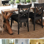best rustic diy farmhouse table ideas and designs for share homebnc accent the perfect your home wicker outdoor furniture dorm antique teal chairs coastal bathroom accessories 150x150