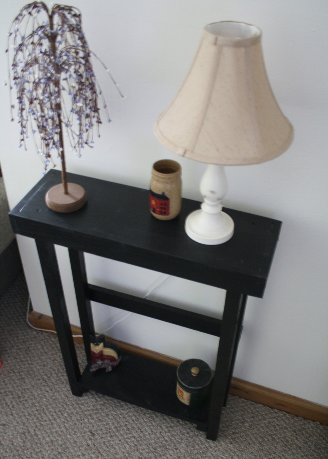 best small black accent table with round glass side curving brilliant beautiful primitive painted tall uniqueprimtiques pedestal inch end target standing lamp pottery barn frog