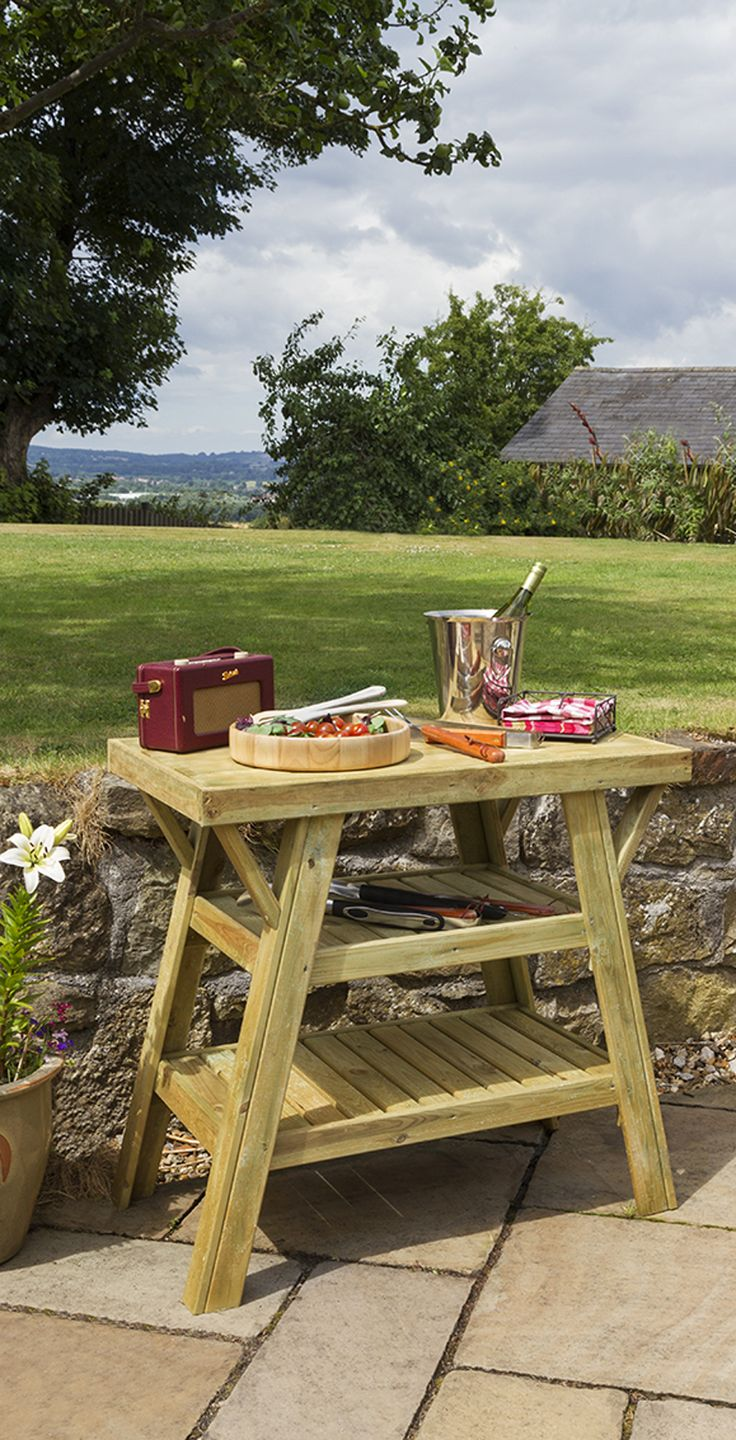 best spaces outdoors home balcony and outdoor side table for bbq this stylish yet functional barbecue has lots space dishes condiments will welcomed budding seasoned purple