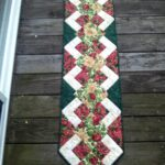 best table runner tutorial christmas tabletop accent your focus pattern patchwork natal runners next small contemporary coffee tables tall skinny entryway french furniture company 150x150