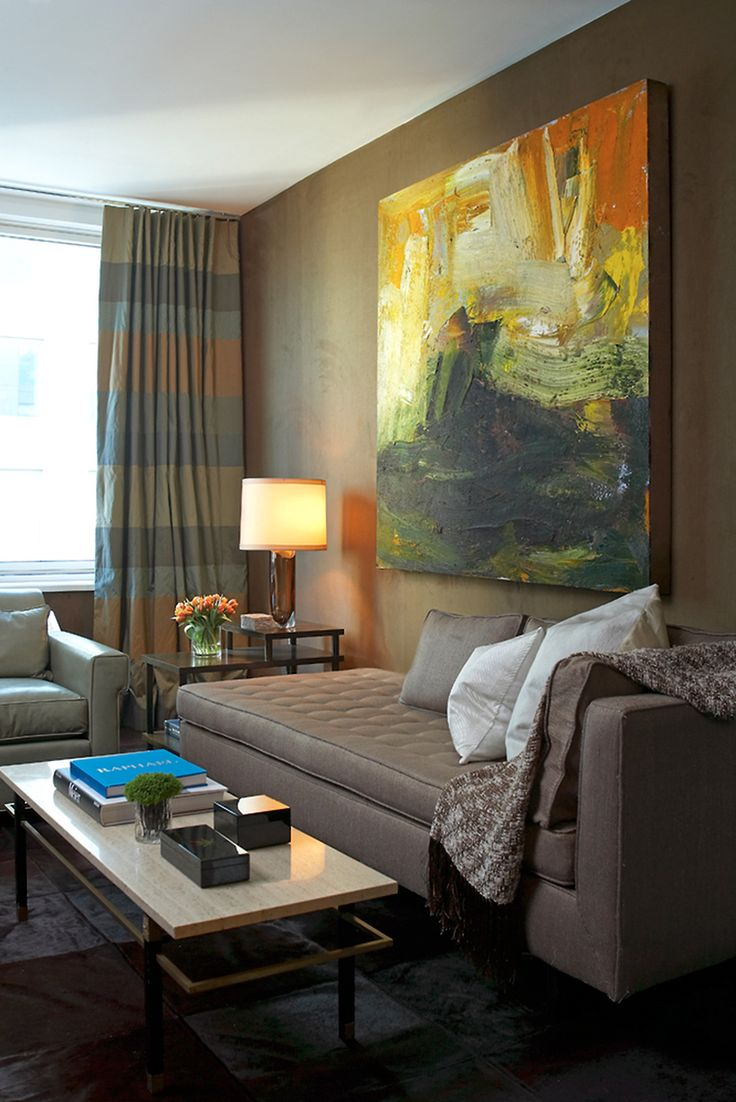 best work art family rooms wallpaper suede city nate berkus glass agate accent table love how the natural here allows walls mimic abstract strokes nic with cooler oak nest tables
