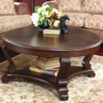 better homes and gardens coffee tables small house interior design ashley furniture round table discontinued mercer accent vintage oak traditional end glass nola brown leather 150x150