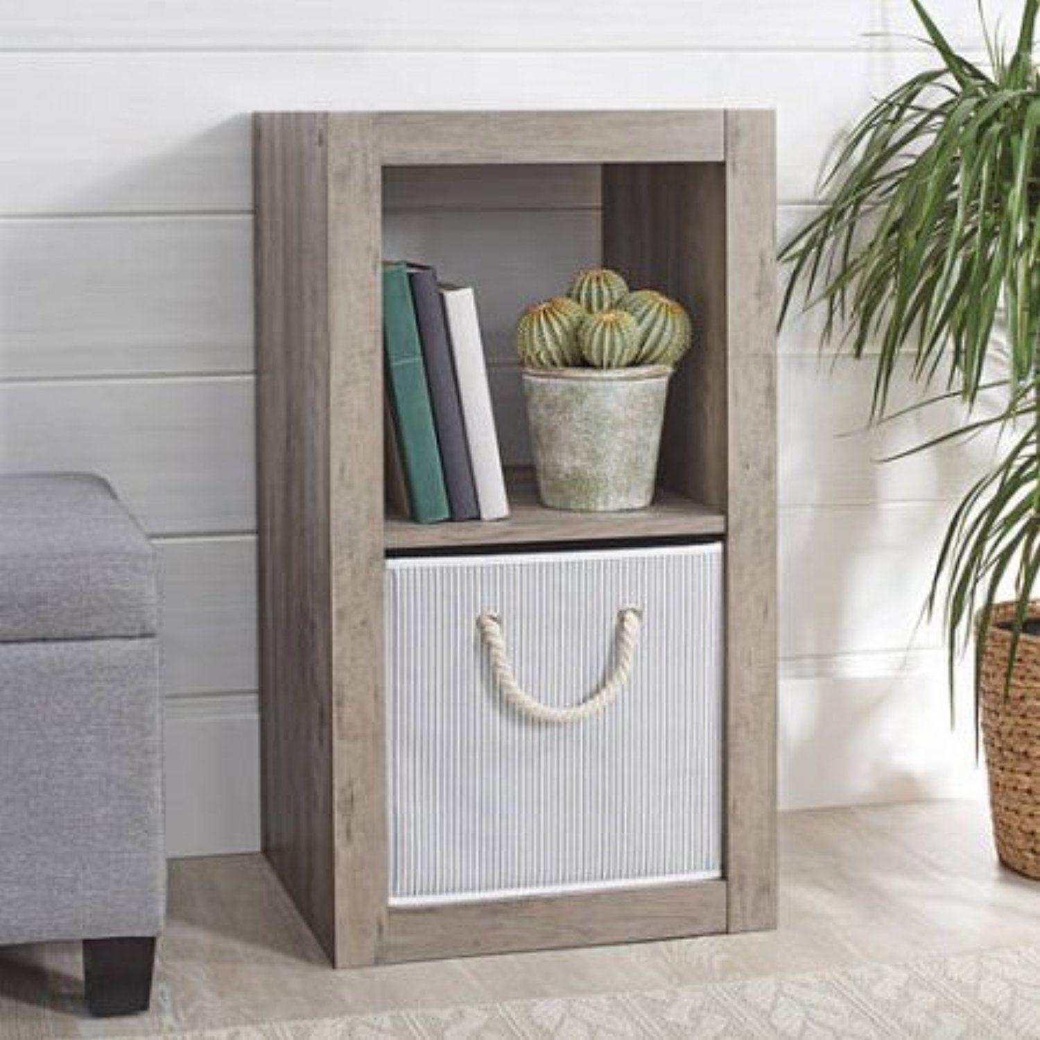 better homes and gardens cube organizer rustic gray read accent table more reviews the product visiting link this affiliate beautiful wall clocks brass bar pub set coffee bathroom