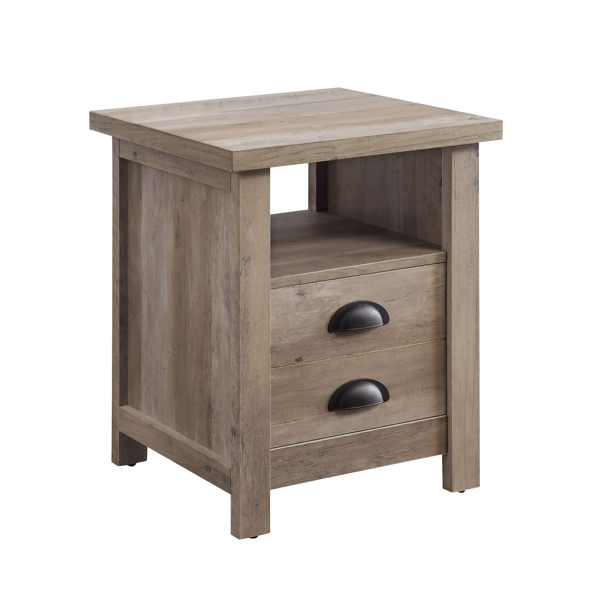 better homes and gardens granary modern farmhouse end table accent multiple finishes antique coffee legs nautical dining room chandelier outdoor recliner ikea vanity lights