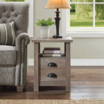 better homes and gardens granary modern farmhouse end table accent multiple finishes rustic outdoor furniture unfinished round coffee half moon with storage recliner frog rain 150x150