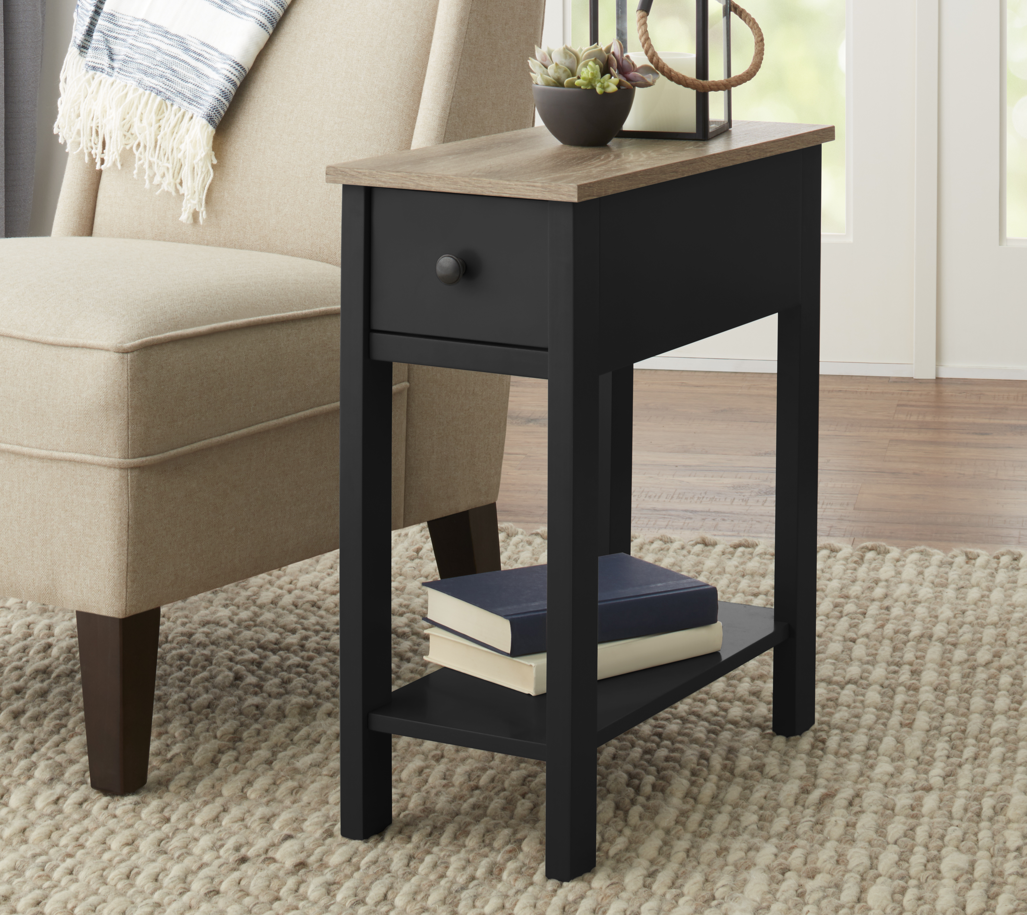 better homes and gardens laurel accent table room essentials instructions bedroom night tables ikea lounge storage half round end sheesham furniture pallet large trestle dining