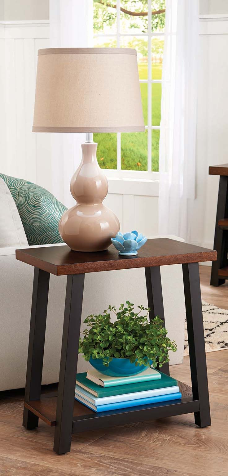 better homes and gardens mercer side table sweepstakes accent vintage oak small glass chrome end stands for living room diy ceramic plant stand tro lamps hallway target tall