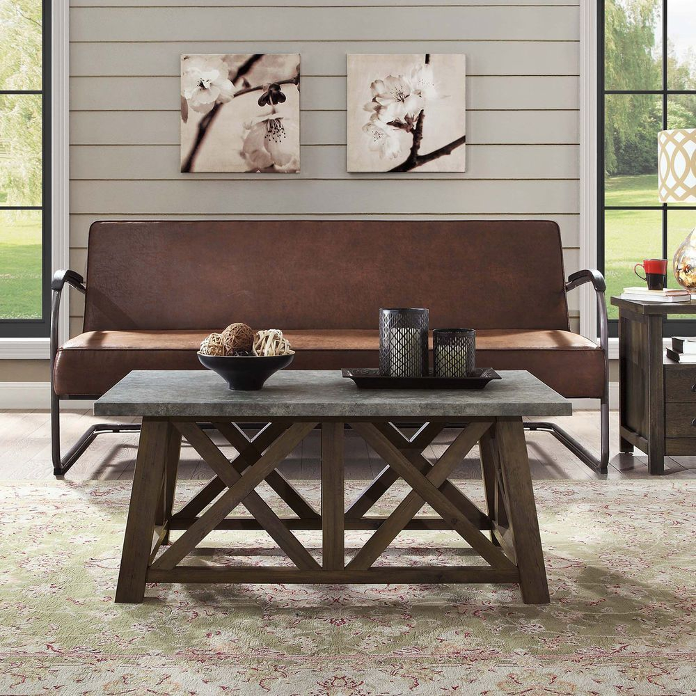 better homes and gardens modern farmhouse coffee table end mercer accent vintage oak outdoor garden furniture distressed white gold hairpin legs bbq grill twin frame target mirror