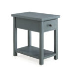 better homes and gardens oxford square end table with drawer accent gray available blue red side lamp shades living room armchair narrow hallway console cabinet cylinder black bar 150x150