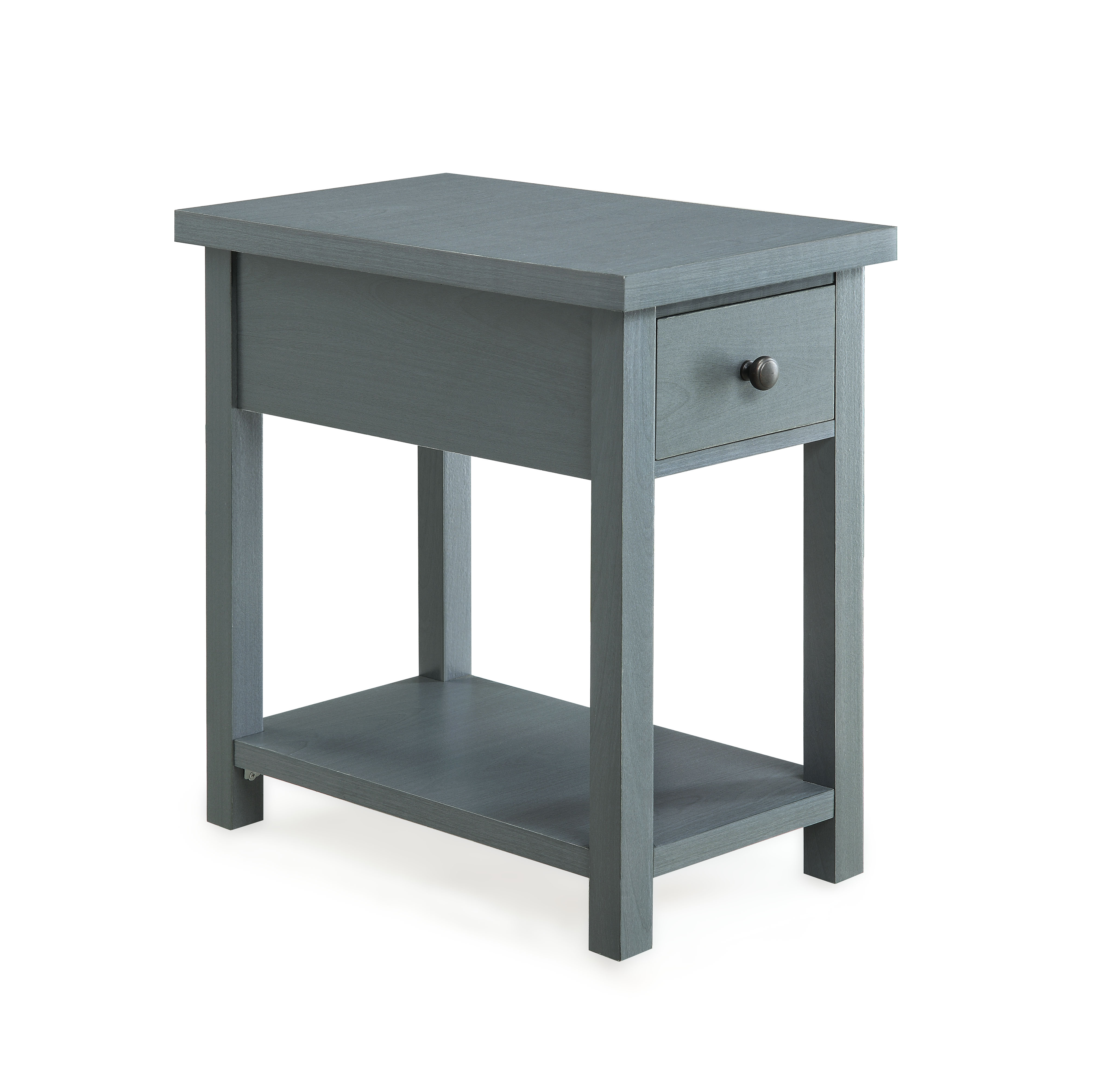 better homes and gardens oxford square end table with drawer accent gray available blue red side lamp shades living room armchair narrow hallway console cabinet cylinder black bar