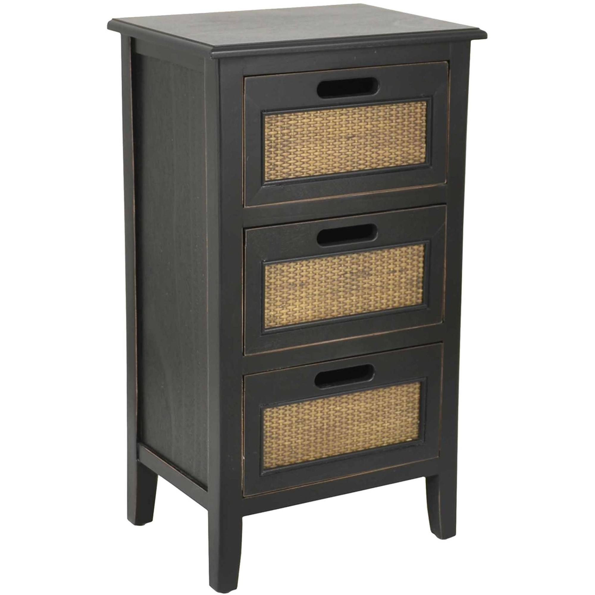better homes and gardens wicker accent drawer table multiple colors grey farmhouse carpet termination strip moroccan mosaic low trestle contemporary bedside tables linens white
