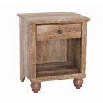 better homes gardens crossmill accent table weathered finish and rustic gray furniture occasional tables small balcony umbrella student computer desk lucite console coffee 150x150