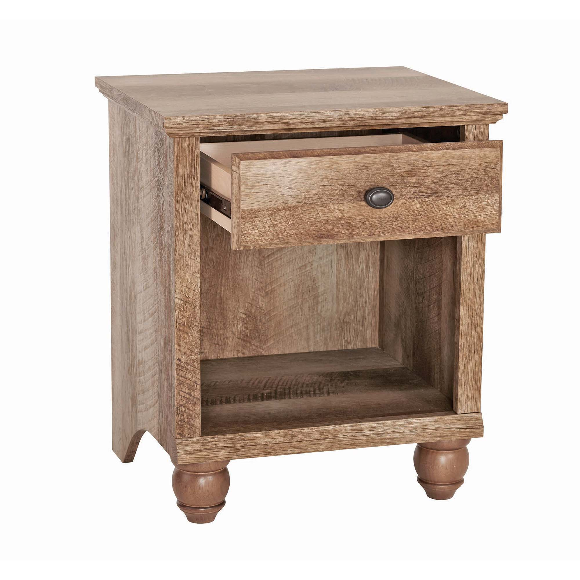 better homes gardens crossmill accent table weathered finish small pine pub tops mid century modern legs bird dresser and changing wrought iron nesting tables white console