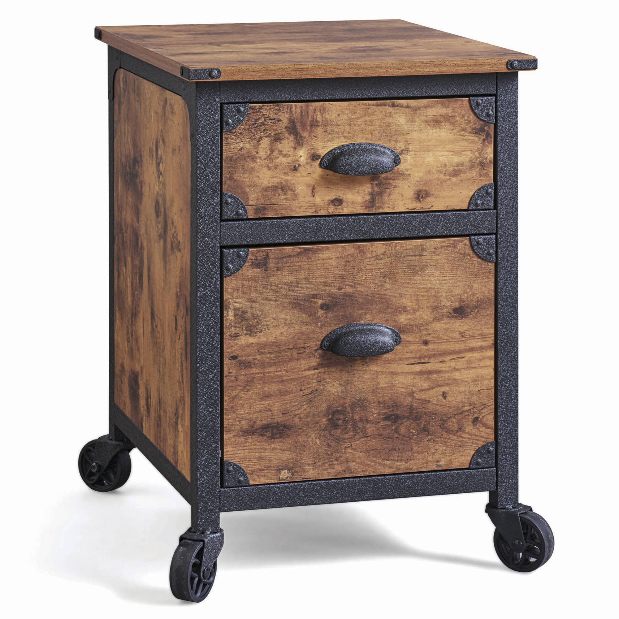 better homes gardens drawer rustic country file cabinet and accent table gray weathered pine finish coffee decor ideas high end garden furniture clearance pool diy modern nautical