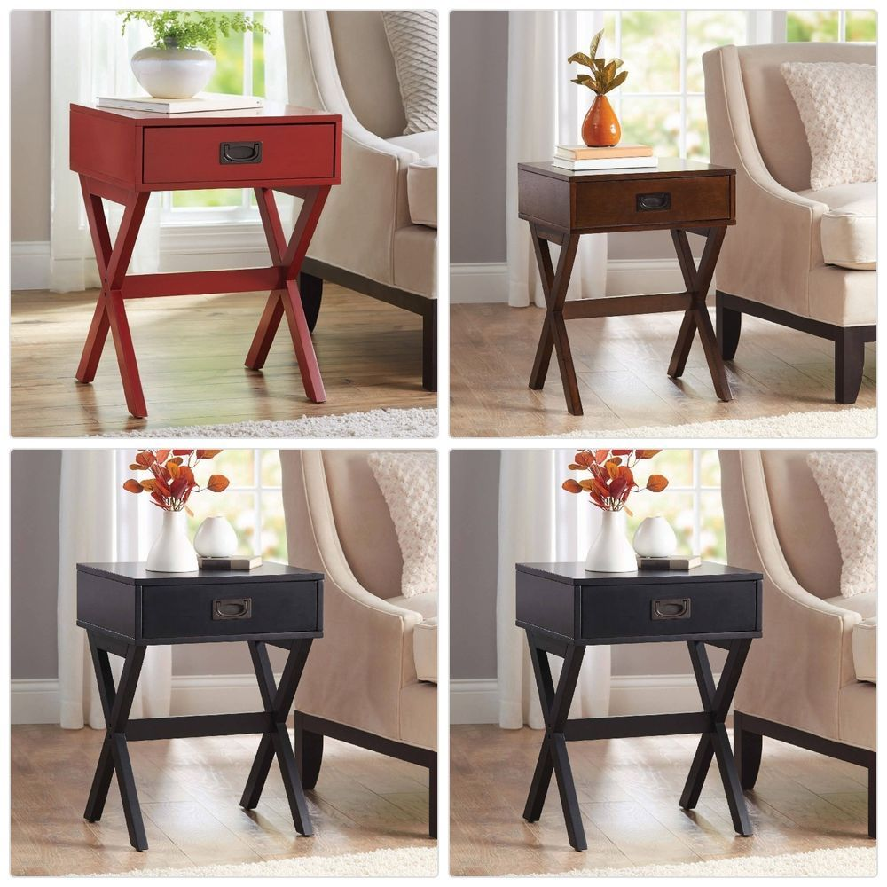 better homes gardens leg accent table with drawer multiple colors and end date monday pdt now for only pair chairs accessories carpet termination strip glass door cabinet living