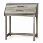 better homes gardens modern farmhouse secretary desk rustic gray and accent table finish high end sofa side ikea marble best home decor ping websites woodworking plans counter 150x150