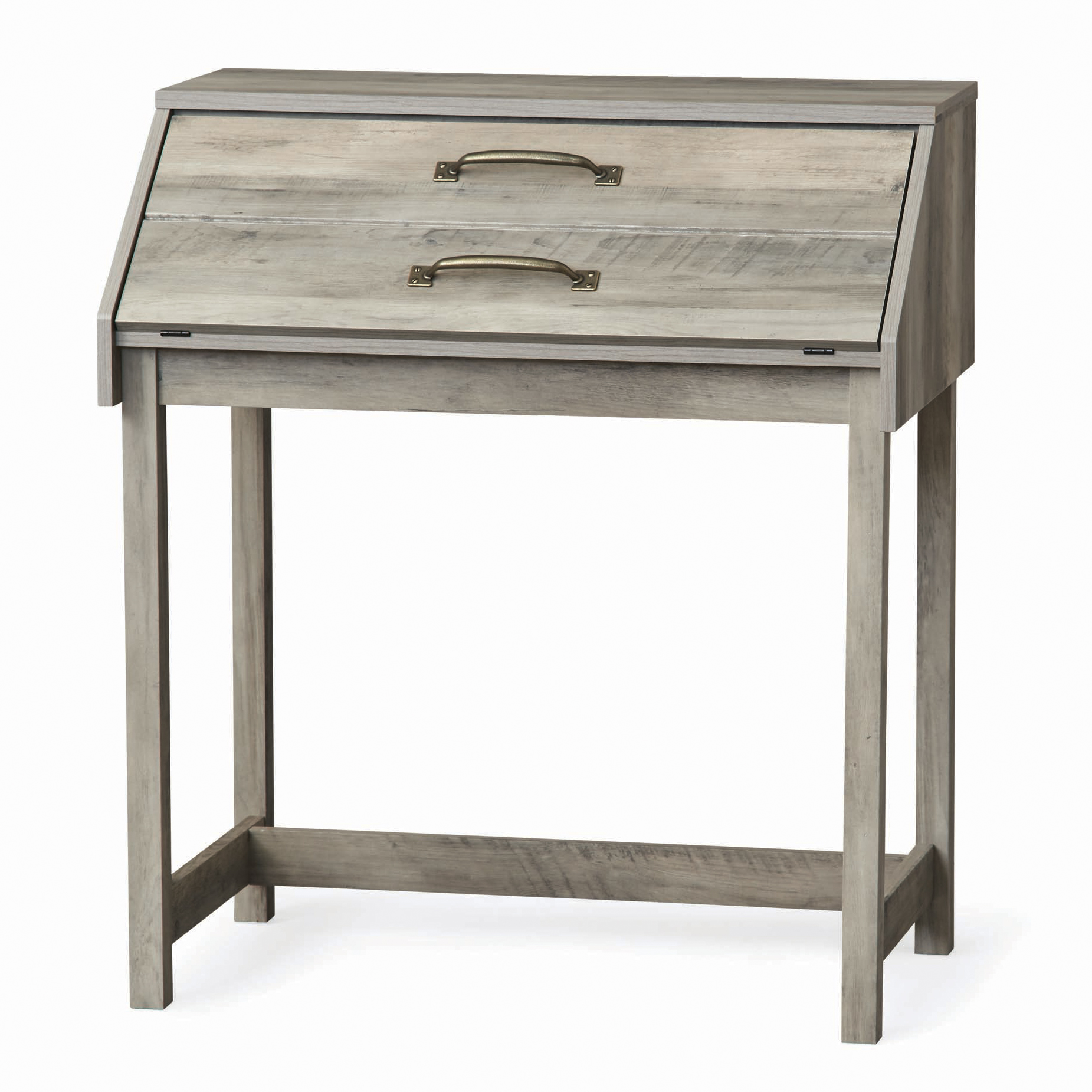 better homes gardens modern farmhouse secretary desk rustic gray and accent table finish high end sofa side ikea marble best home decor ping websites woodworking plans counter