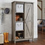 better homes gardens modern farmhouse storage bookcase cabinet and accent table rustic gray finish best home decor ping websites garden big lots end tables bar pub set high lack 150x150