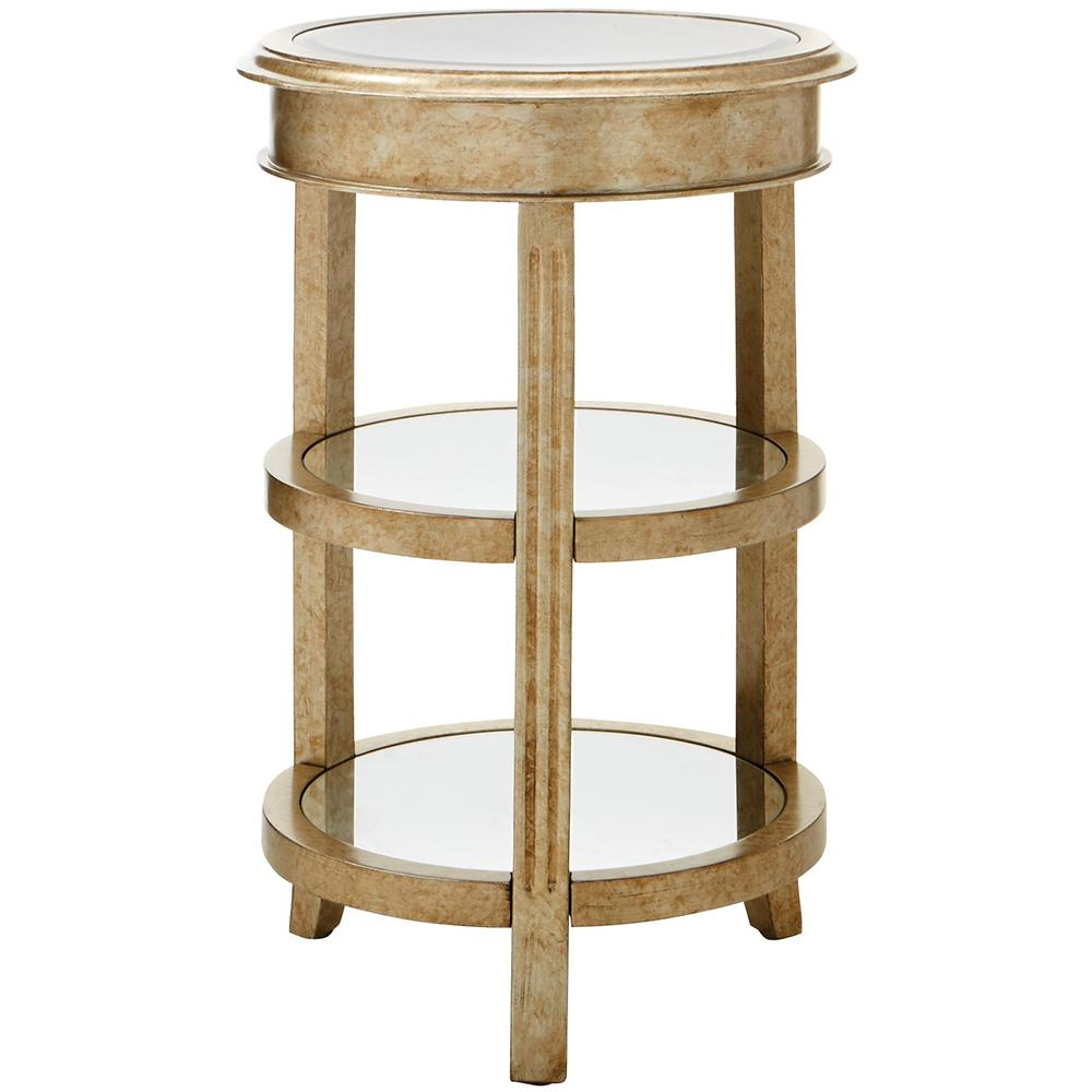 bevel mirror gold round accent table the end tables quatrefoil wood chairs oak mission rectangle patio coffee sets kids and target acrylic winsome timmy three piece set inch side