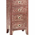 bijan hand painted drawer chest leen bakker woonideeen accent tables chests small wrought iron table bellingham furniture wood living room bent acrylic coffee distressed white 150x150