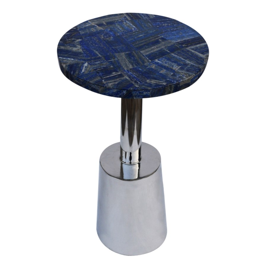 billie accent table round lapis top tables elements blue next mirrored side green marble coffee wisteria tiffany style lamps black end with storage for living room orange