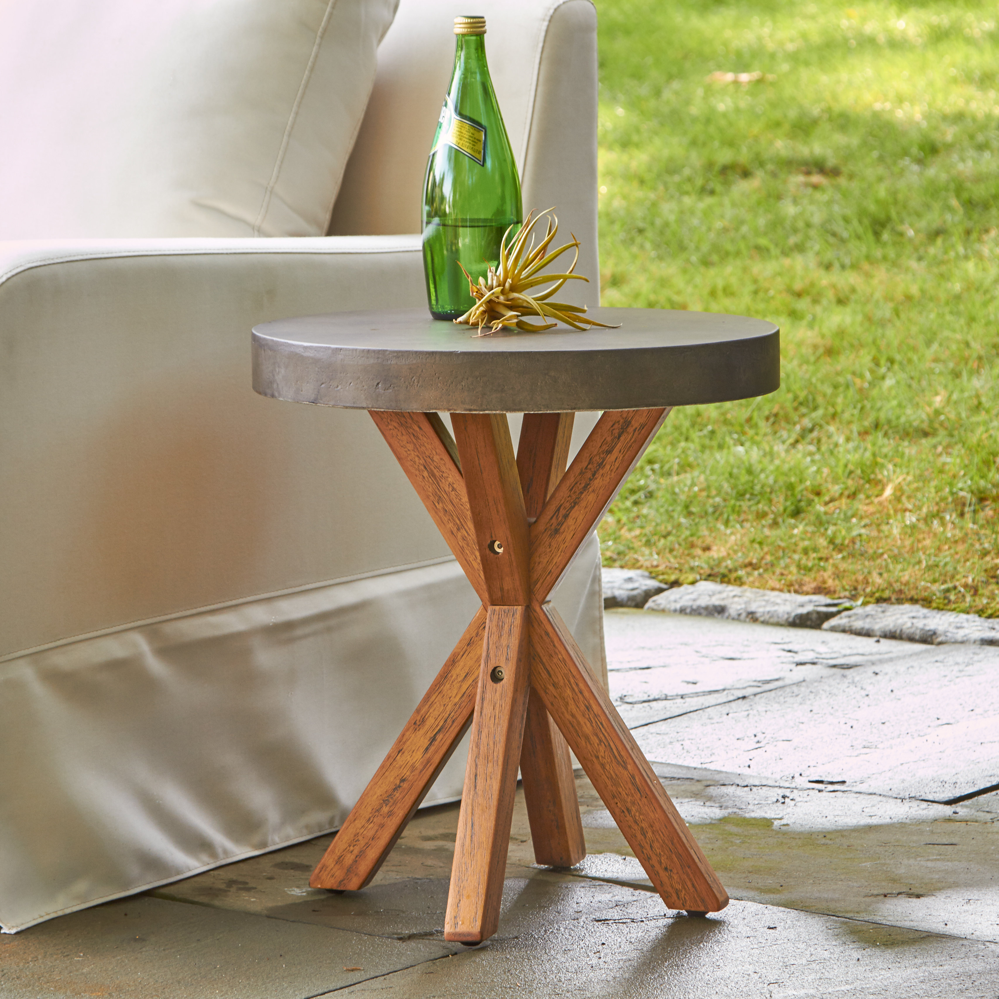 birch lane heritage mancini round end table reviews outdoor mosaic stone accent drum throne parts resin wicker patio furniture nautical ornaments reclaimed wood coffee rectangular