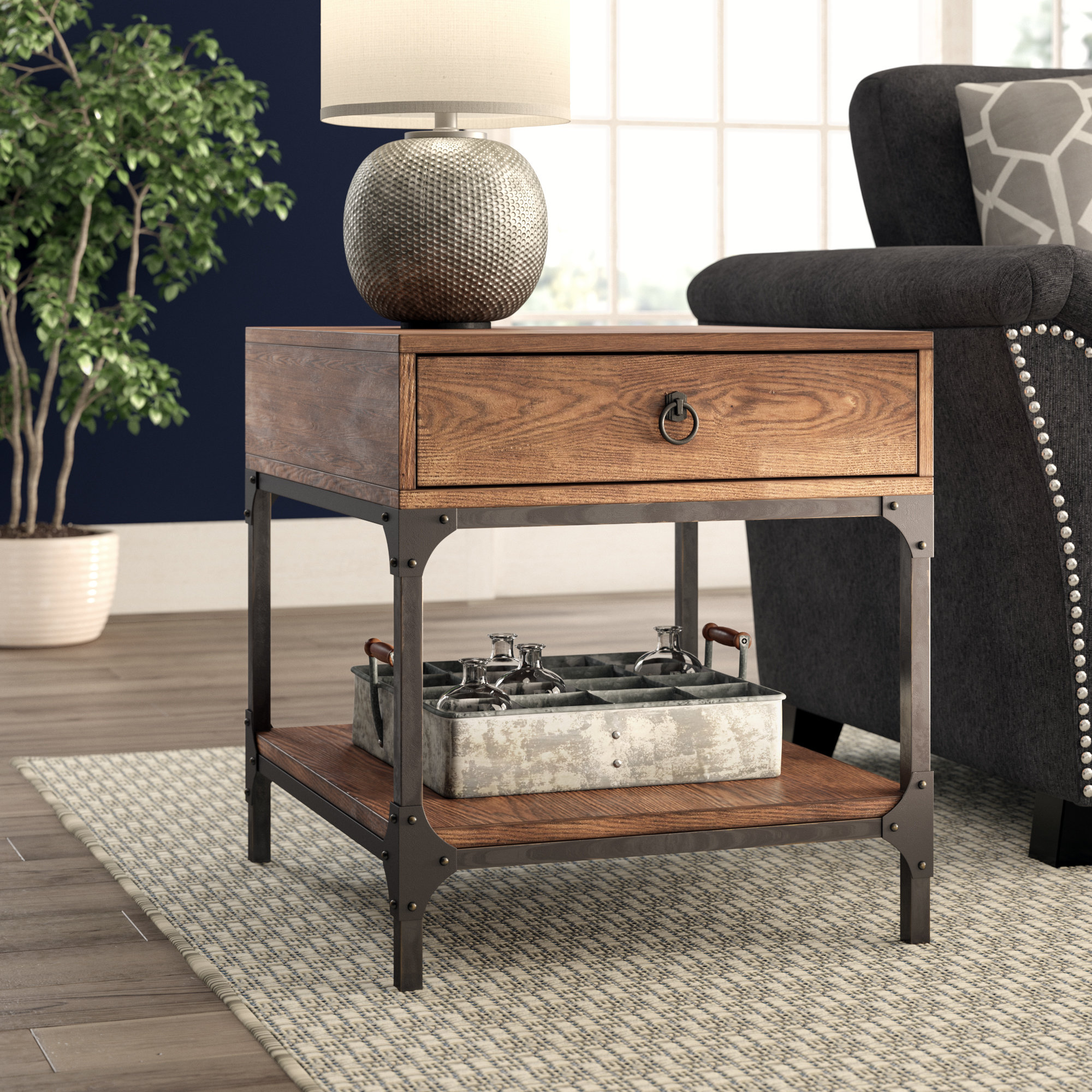 birch lane heritage tanner side table reviews middletown accent patio small console chest better homes coffee outdoor umbrella bunnings wine racks for home threshold windham door