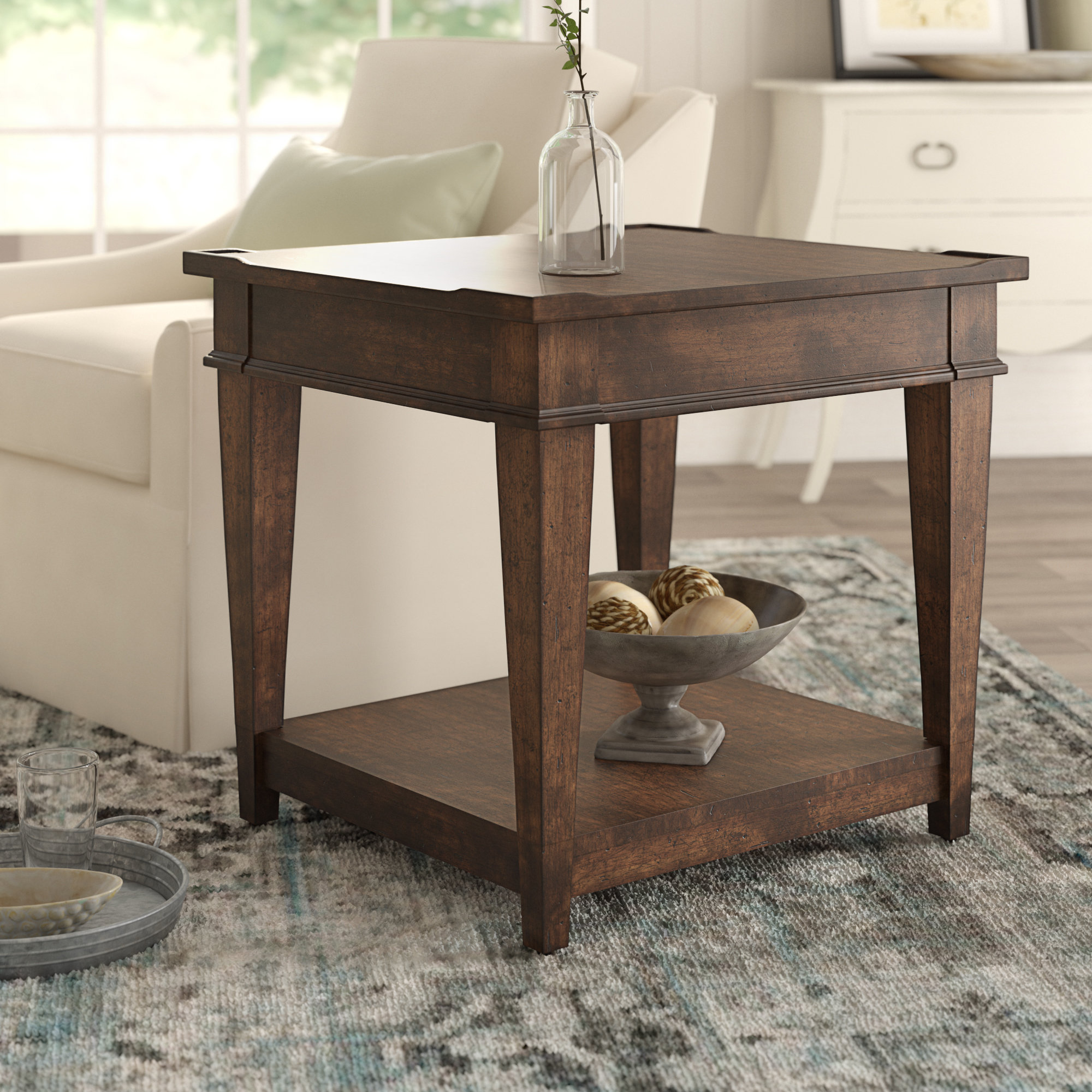 birch lane heritage wheaton side table reviews room essentials storage accent stacking coffee tables round concrete contemporary decor tablecloth square pier papasan chair small