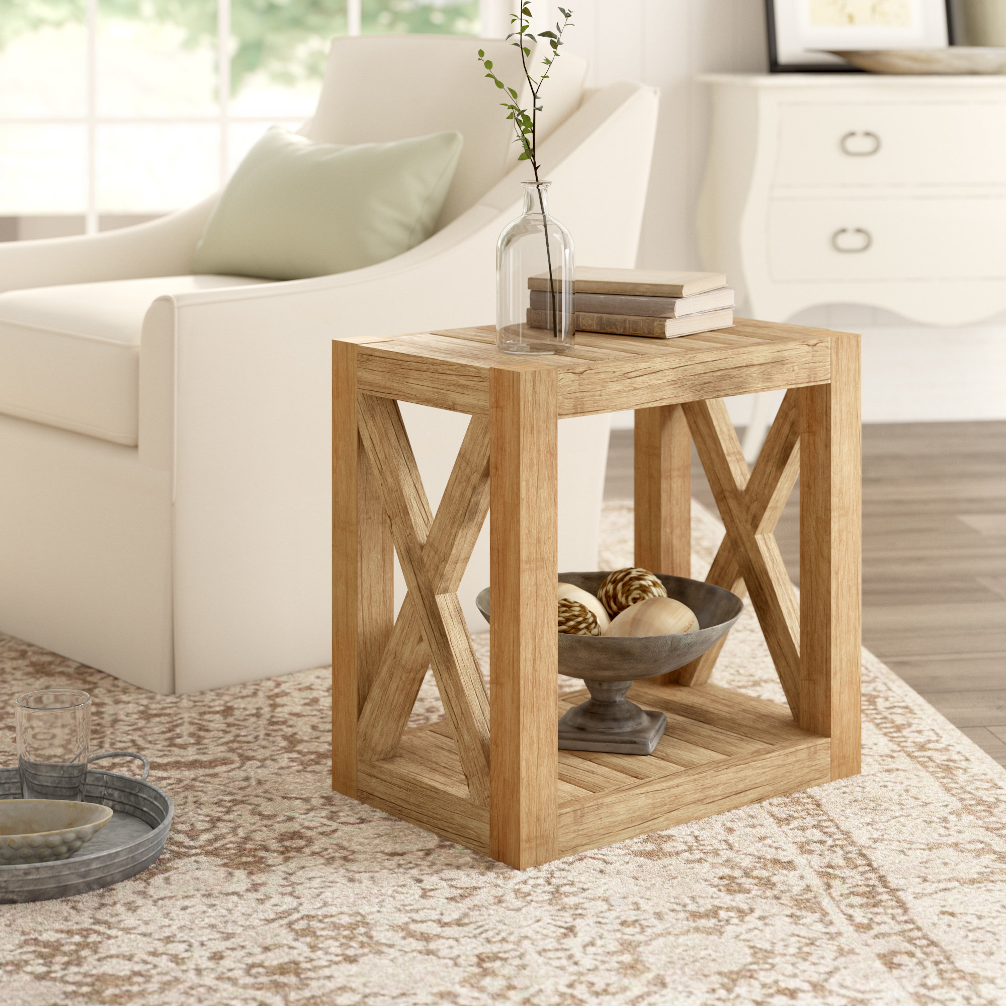 birch lane heritage wrightstown side table reviews room essentials metal patio accent teton high top pub set antique oak bedside tables ethan allen kitchen small end with shelves