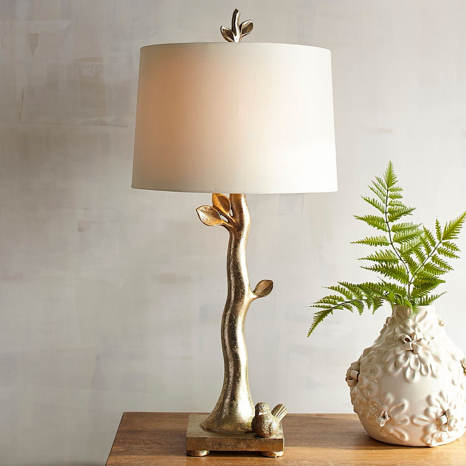 bird branch table lamp pier imports one accent lamps with hidden chairs sisal runner dining six marble pedestal coffee glass bunnings outdoor sun lounges wedding reception