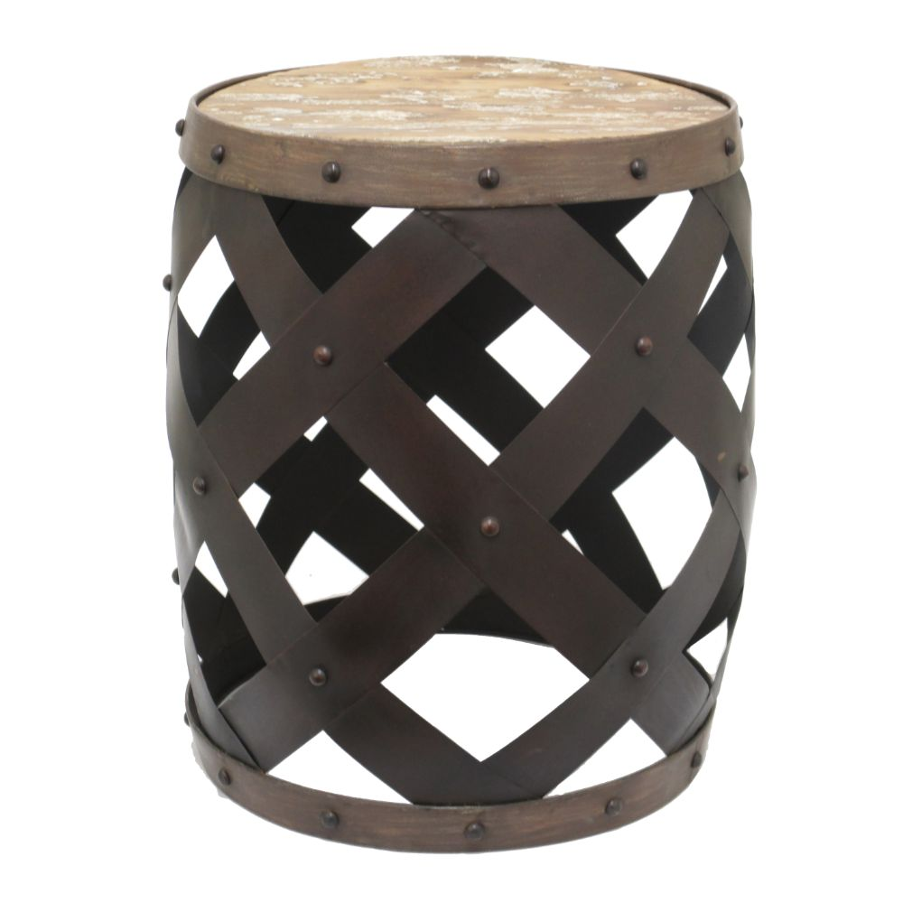 bisonoffice chic metal wood accent table natural brown magnetic lamp inch round tablecloth big lots dresser nightstand black and gold decorations dark end tables pier one outdoor