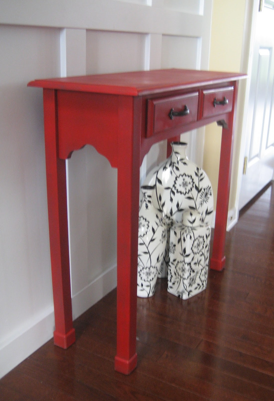 black accent table tables decoration home red wood decor acrylic drink contemporary living room coffee tray ikea silver wrought iron occasional metal legs kohls bedspreads and