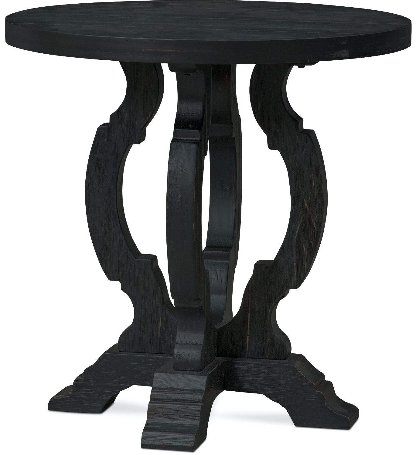 black accent table wood round flare square legs shelf and occasional furniture metal patio with umbrella hole wine rack rectangle glass coffee nate berkus bath rug ceramic lamps