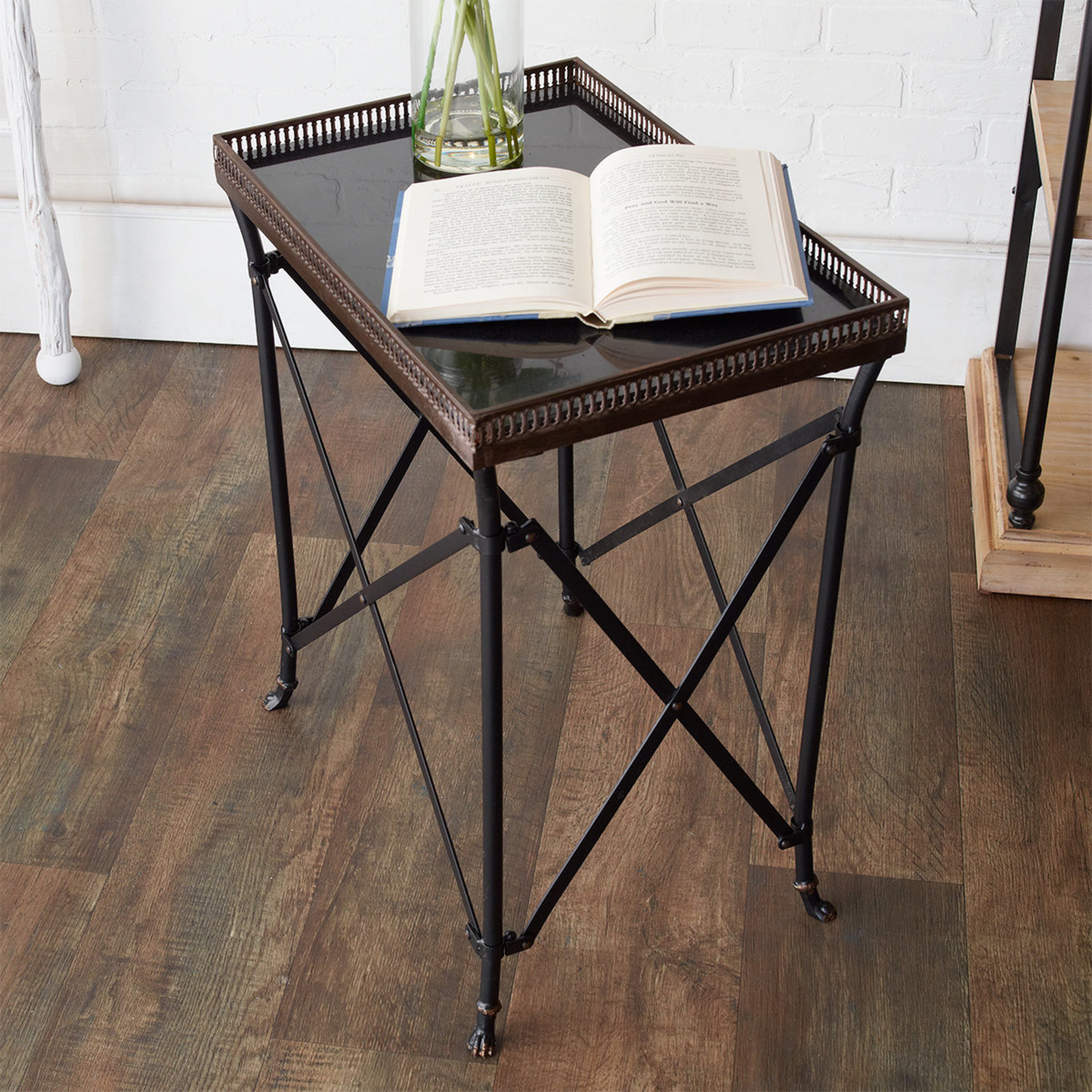 black and gold rectangular accent table shades light rustic contemporary furniture mirimyn round large square coffee thin behind couch novelty lamps marble top breakfast cast