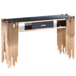 black and gold sofa table winningmomsdiary mauris collection allamoda furniture allamodafurniturecom accent console behind couch bohemian coffee round covers narrow end retro 150x150