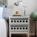 black and white nightstand fumtc daniel accent table with drawers tribal timmy teal lamp bedside lamps usb storage cocktail marble top corner crystal chandelier lucite console 150x150