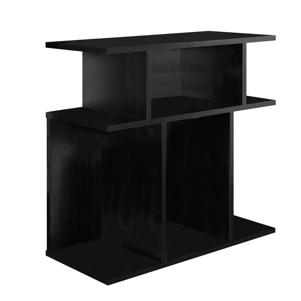black cubby accent table shelving with shelf glass stacking tables gray coffee vinyl floor threshold distressed trestle pier metal pin legs corner chest pottery barn dining set