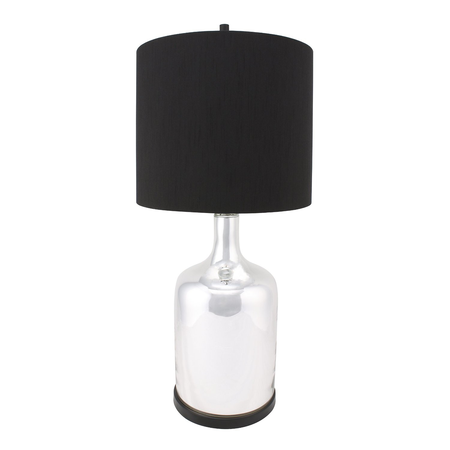 black metal table lamp base find inside bases flesner brushed steel accent with usb port inch high end tables reclaimed wood coffee outdoor furniture perth pier one promo code
