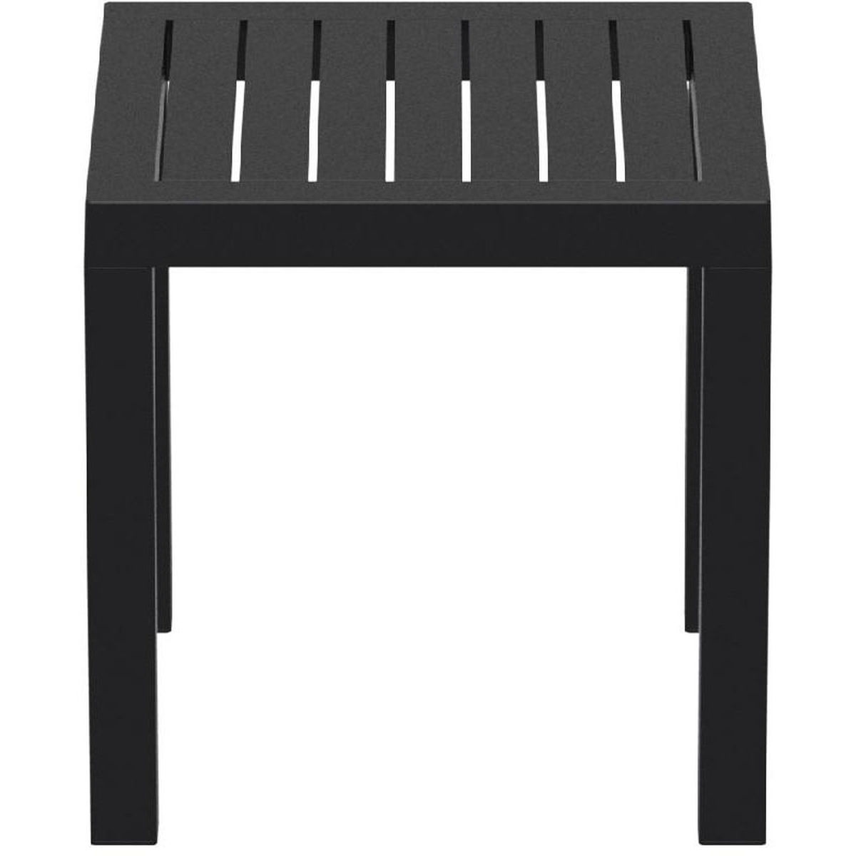 black outdoor square side table bla bizchair compamia cmp main resin our ocean now west elm mid century rug accent victorian style coffee and end tables wooden wine racks marble