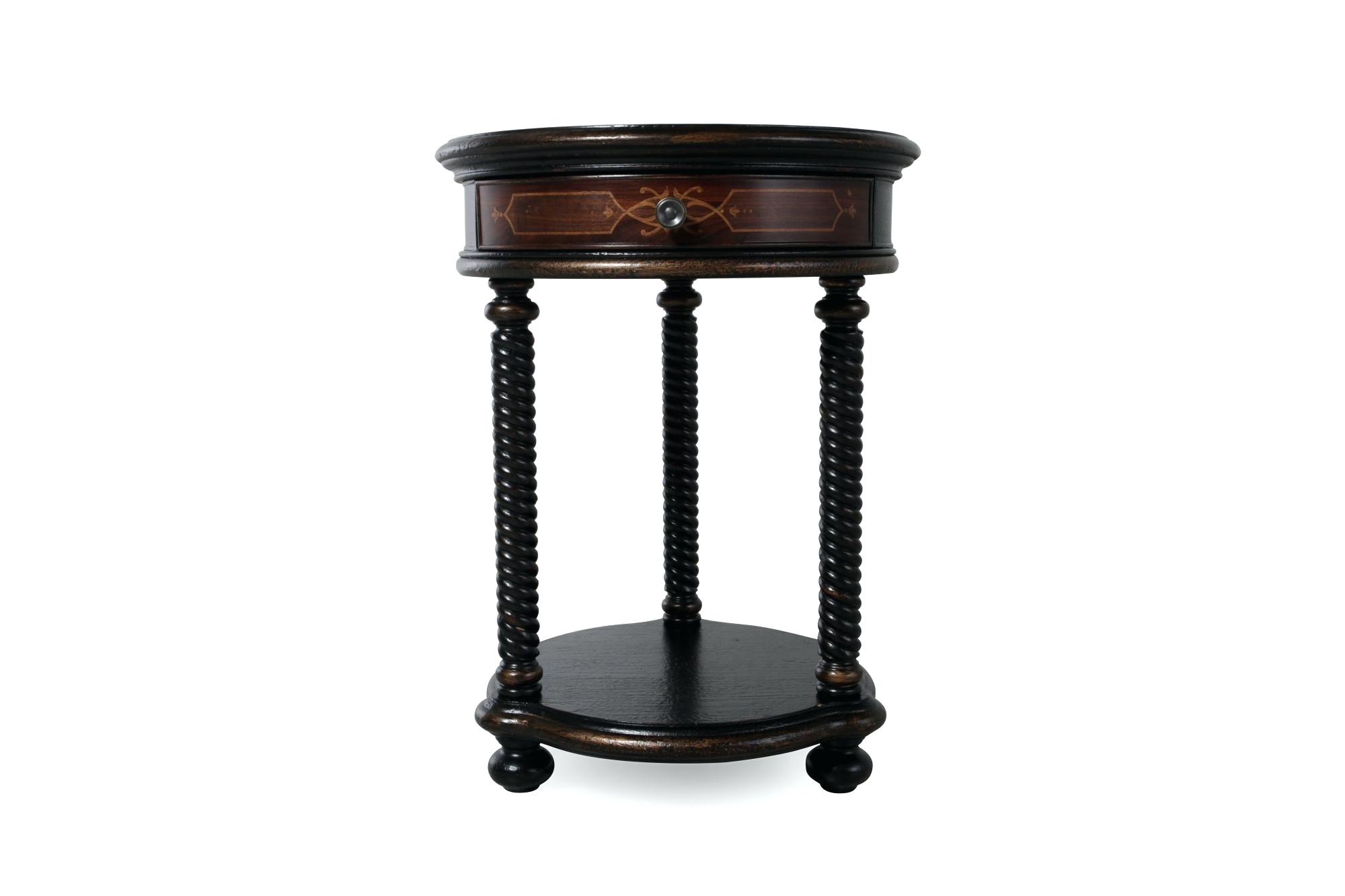 black round accent table coffee sensational white twisted legs traditional tables with storage evans head wood dining room and chairs metal tool cabinet very small pedestal side