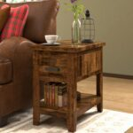 black round side table rabbssteak house small accent lamps luxury console with storage metal rustic foyer cabinet furniture dining cover pottery barn style coffee marble entry 150x150