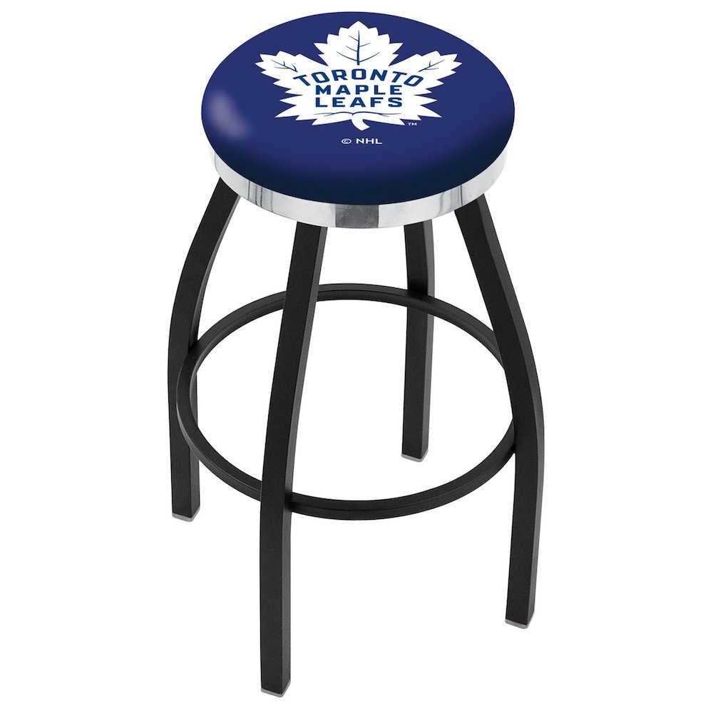 black wrinkle toronto maple leafs swivel bar stool with accent furniture chrome ring holland grey bedside table mid century outdoor patio ikea desk legs slim glass side cushions