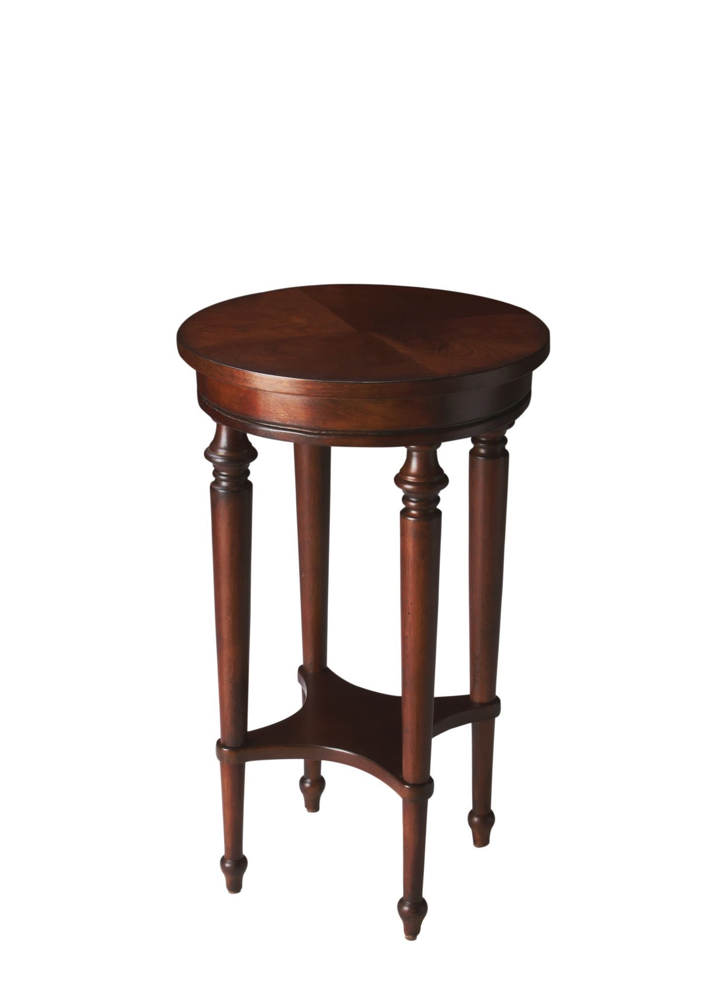 blackwell traditional round accent table dark brown cherry finish fitted nic covers furniture pieces farm style dining black acrylic bar towels linens for inch corner umbrella