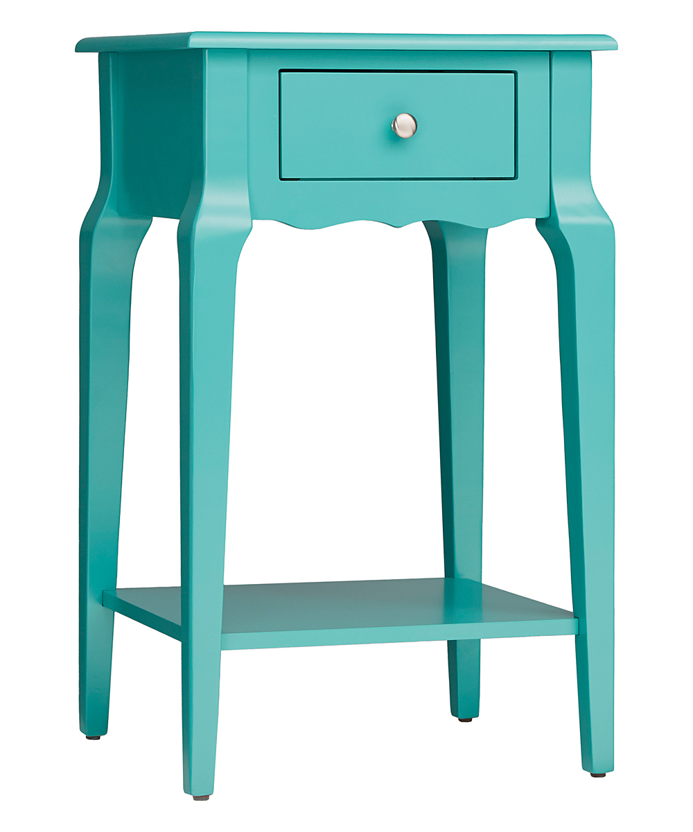 blaine collection marine green chilton accent table zulily main all gone kmart camping small space furniture solutions martin home furnishings half round with drawers wooden chair