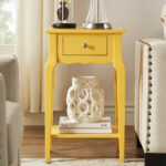 blaine collection yellow accent table zulily alt alternate white and grey side round bronze retro modern chairs dale tiffany crystal lamps gas grills resin wicker furniture room 150x150