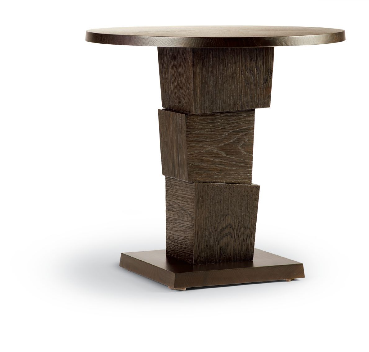 block end table furniture side small single wood accent with three sawn blocks solid top and base optional painted finish available various sizes finishes dining room lighting