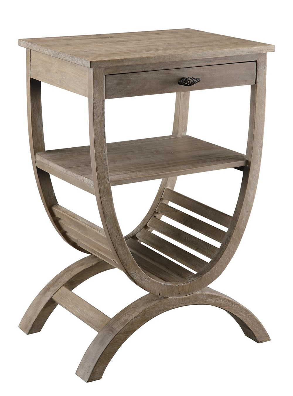 blondelle accent table crestview collection sylvan furniture bengal manor mango wood twist modern side lamp pub height kitchen wicker indoor iron nesting tables small foyer pier